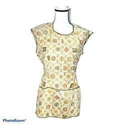 Vintage 1970's The Fifth Avenue Full Apron, 3 Front Pockets, A Mussallem Product