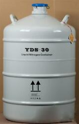 50l Cryogenic Container Liquid Nitrogen Ln2 Tank With Protective Sleeve U