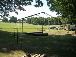 Military Surplus 11x11 Command Post Tent Frame...frame Only..camp Hunt Us Army