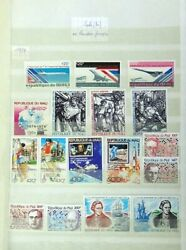Mali 1979/92- Mnh Collection Of +270 Air Post Stamps And Souv Sheets