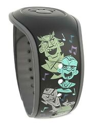 Disney Parks The Haunted Mansion The Singing Busts Magicband - New And Unlinked