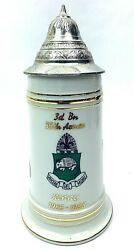 Us Army Cold War German Beer Stein 3rd Bn 35th Armored Regiment 1st Armored Div.