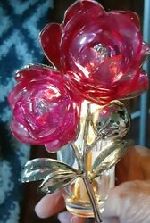 Bathamp;Body Works Wall Flowers Light Up Rose Air Freshener Plug In
