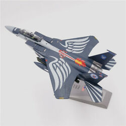 1/100 F-15 Eagle Fighter 75th Anniversary Edition Diecast Plane Model Aircraft