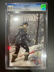 Revival 1 Cgc 9.0vf/nm Third Eye Awesome Conventions