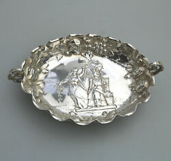 A Good Antique Continental / Usa Silver Sweet / Candy Dish C.19th/early 20thc