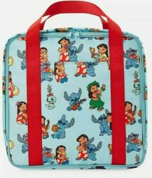 Disney Lilo And Stitch Blue Satchel Backpack Swim Tote Beach Bag New $25.00