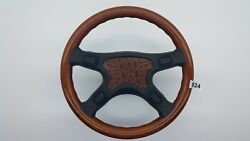 Mercedes W124 Sport Steering Wooden Wheel Made By Italy By Selm