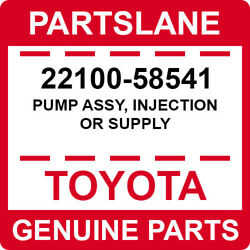 22100-58541 Toyota Oem Genuine Pump Assy, Injection Or Supply