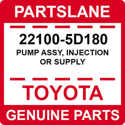 22100-5d180 Toyota Oem Genuine Pump Assy Injection Or Supply