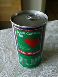 South Carolina 7-up Soda Error Can Pull Tabs Both Ends Never Opened Or Filled