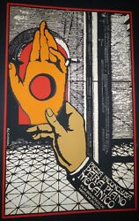 Cuban Poster In Moma Collection For Ussr Movie / Signed Reboiro Cuba Silk-screen