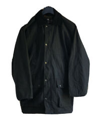 Mens Wax Oil Coat Jacket Whatbaron Limited Mid Length Made In Uk Size S 446