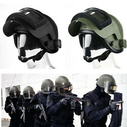 Tactical Copy Welding Iron Helmet With Mask