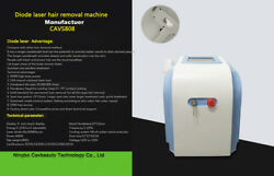 Laser Salon Machine 808nm Diode Laser Hair Removal Machine Factory Directly 600p