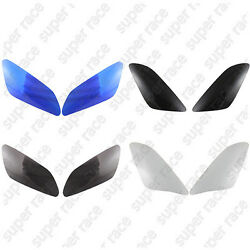 Black Smoke Blue Headlight Lens Cover Protector Shield For Yamaha Yzf R1 00-01