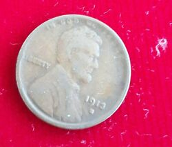 Us Coins Lincoln Cent 1913 S