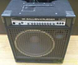 Used Gallien-krueger Combo 700rb Mkii/115 For Base 480w Transistor