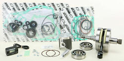 Wiseco Engine Rebuild Kit W/ Crank Main Bearings Seals And Gaskets Pwr179-101