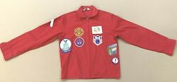Vintage 1960's Boy Scouts Of America Official Red Jacket Uniform 28 Patches