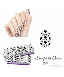 Color Street STAR FOR THE COURSE Nail Polish Strips Free Shipping $12.00