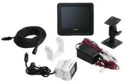 Velvac 709954 Back-up Camera Kit With 7 Monitor White Rear View Camera And 34