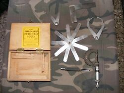 Original Engineers Precision Tools Moore And Wright Sheffield England