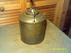 Antique Bessmer And Lake Erie Railroad Marked B And Le Rr Gas Can Lid, Spout, Handl