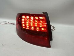 2006 2007 2008 Audi A6 Avant Wagon Driver Side Taillight Rear Outer Left Lamp Oe