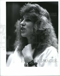 Vintage Photos 1989 Angel Watters on Council Chambers Meeting 8x10