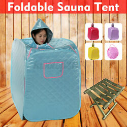 Foldable 2.6l Home Spa Steam Sauna Tent Full Body Health Preservation Therapy