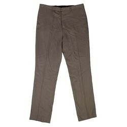 Nwt Rick Owens Dust New Wool 'slim Long Astaires' Pants Size 42/52 1000