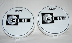 Cibie Turini Vintage Spot Light Covers - New Old Stock