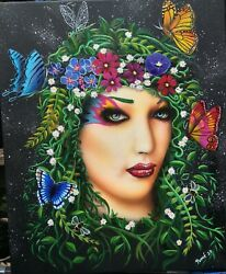 """""""mother Nature"""" Original Painting On Canvas"""