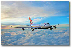 Farewell Queen Of The Skies By Peter Chilelli - Boeing 747 - Aviation Art Print