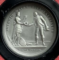 Americaand039s First Medals | General Anthony Wayne | 1976 | Pewter | Box + Coa
