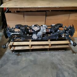 2017 Ford Focus Rs Rear Axle Differential Knuckle Suspension 22k Miles Oem