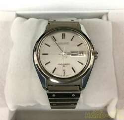 Seiko Grand Seiko 6146-8000 Stainless Steel Automatic Mens Watch Auth Works