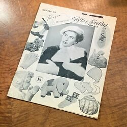 C.1950's Paragon Knitting Book No.69 Gifts And Novelties Bags Toys Bonnets Bb8