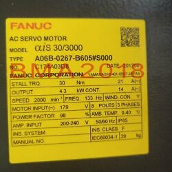 1pc Used Fanuc A06b-0267-b605s000 Tested In Good Condition Fast Delivery