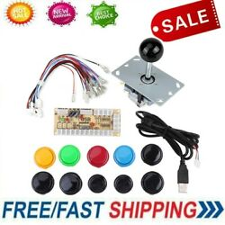 Arcade Diy Kit Arcade Buttons Diy Kit Plastic And Metal For Fight Stick Mame