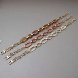 Replacement Purse Chain Shoulder Bag Strap for Cluth Bag Small Handbag Handles C $5.70