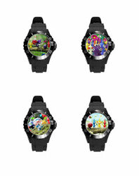 Real-time Strategy Pikmin Many Color Styles Plastic Soft Rubber Wrist Watch