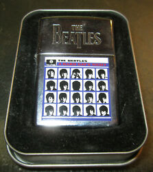 Vintage New The Beatles A Hard Day's Night Zippo Lighter New In Tin