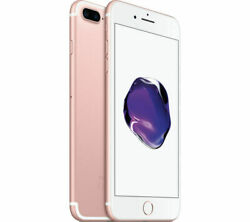 Apple Iphone 7 Plus - 128gb - Rose Gold With Case Protector