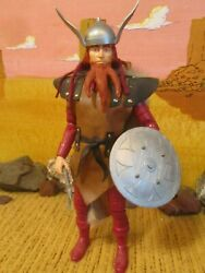 Custom Viking Warrior From The Johnny West Collection By Marx,1/6th Scale