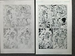 Fear Agent Original Artwork Original Pencils And Interior Ink Pages Tony Moore