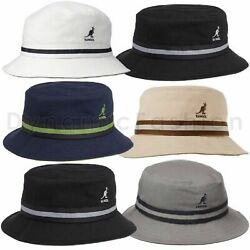 100% Authentic Mens Kangol Stripe Lahinch Bucket K4012SP $36.55