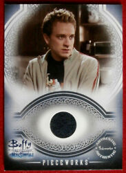 Buffy The Vampire Slayer - Authentic Show-worn Costume Card Pw4 - Tom Lenk