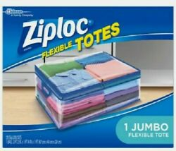 Ziploc Storage Bags for Clothes Flexible Totes for Easy and Convenient Storage $18.99